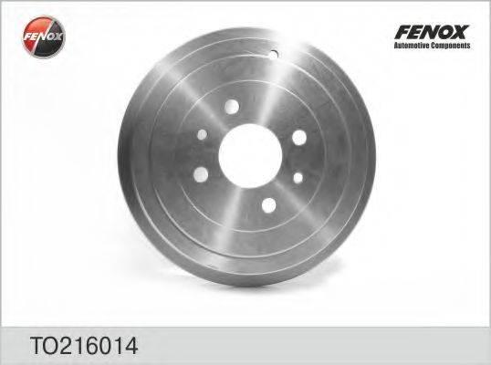 FENOX TO216014 Тормозной барабан