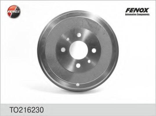 FENOX TO216230 Тормозной барабан