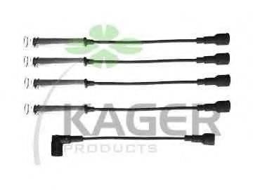 KAGER 640257 Комплект проводов зажигания