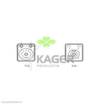 KAGER 313722 масляный радиатор, двигательное масло