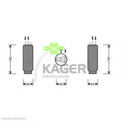 KAGER 945031 Осушитель, кондиционер