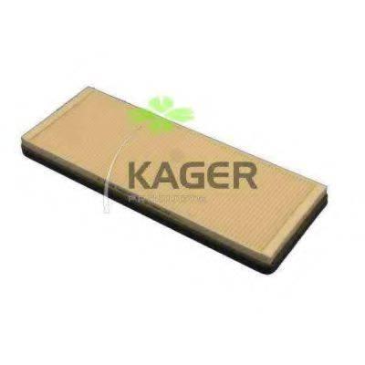 KAGER 090007 Фильтр, воздух во внутренном пространстве