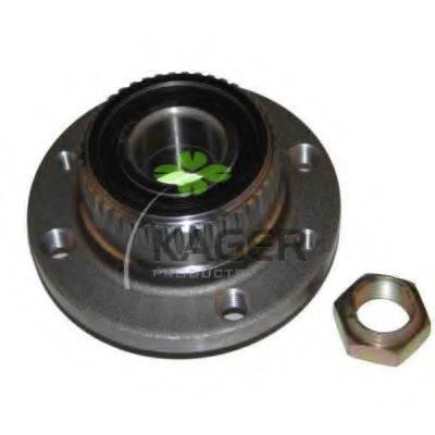 KAGER 830779 Комплект подшипника ступицы колеса
