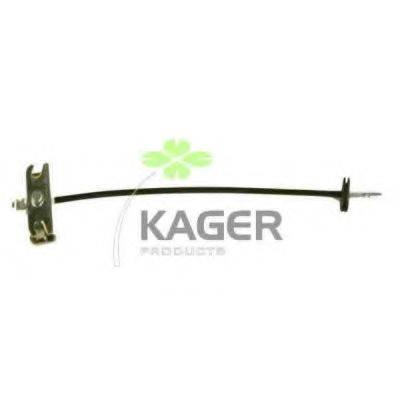 KAGER 190372 Трос, стояночная тормозная система