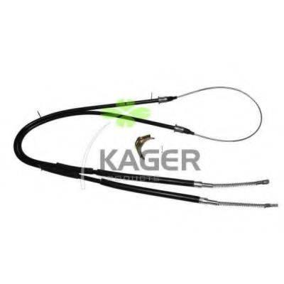 KAGER 190312 Трос, стояночная тормозная система