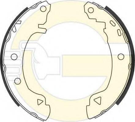 GIRLING 5186313 Комплект тормозных колодок