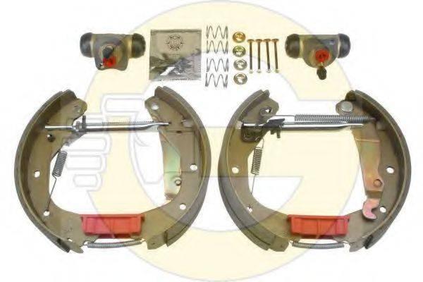 GIRLING 5316089 Комплект тормозных колодок
