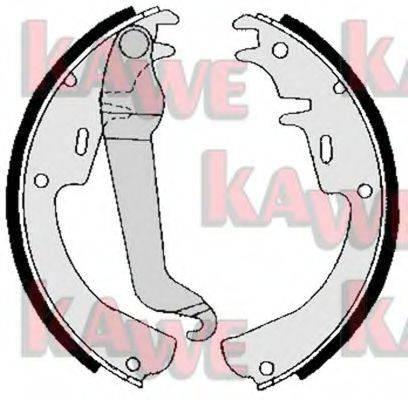 KAWE 02540 Комплект тормозных колодок