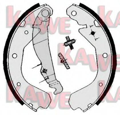 KAWE 04640 Комплект тормозных колодок