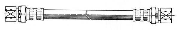 KAWE 510176 Тормозной шланг