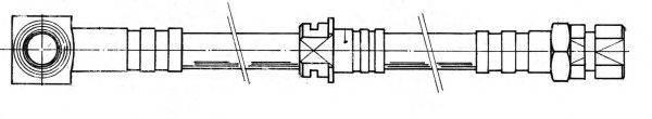 KAWE 510719 Тормозной шланг