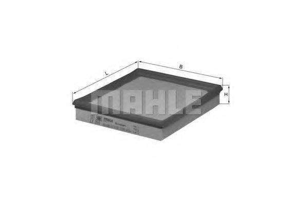 MAHLE ORIGINAL LX316 Воздушный фильтр
