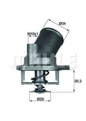 MAHLE ORIGINAL TI292 Термостат, охлаждающая жидкость