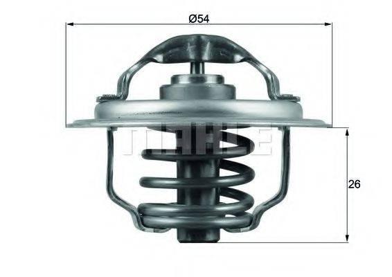 MAHLE ORIGINAL TX11187D Термостат, охлаждающая жидкость