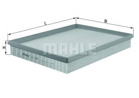 MAHLE ORIGINAL LX735 Воздушный фильтр