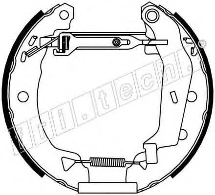 FRI.TECH. 16150 Комплект тормозных колодок