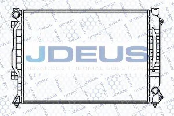 JDEUS 001M16 Радиатор, охлаждение двигателя