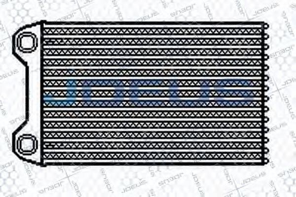 JDEUS 201M04 Теплообменник, отопление салона