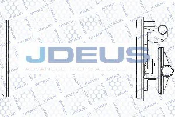 JDEUS RA2110230 Теплообменник, отопление салона