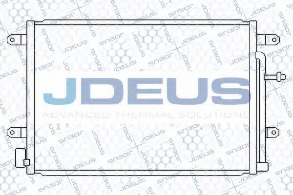 JDEUS RA7010140 Конденсатор, кондиционер