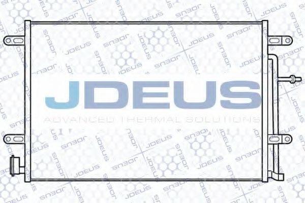 JDEUS RA7010150 Конденсатор, кондиционер