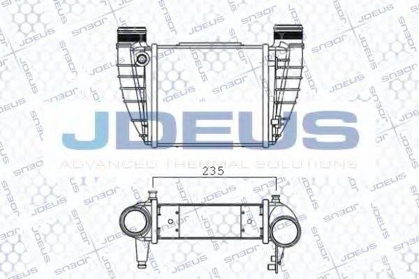 JDEUS 801M29A Интеркулер
