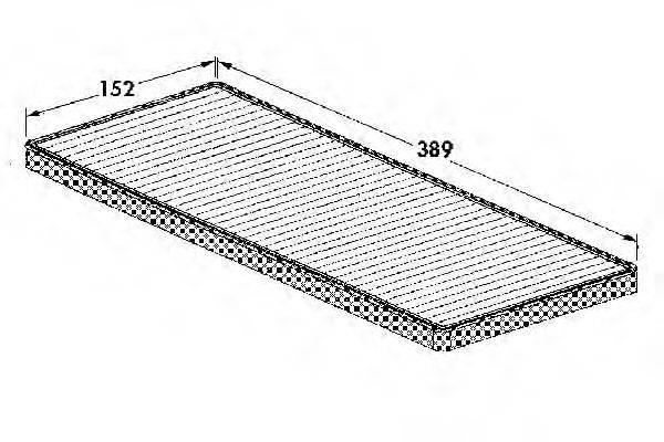 WEBASTO 82D0325003A Фильтр, воздух во внутренном пространстве