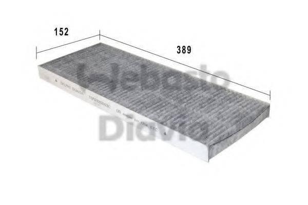 WEBASTO 82D0325003CA Фильтр, воздух во внутренном пространстве