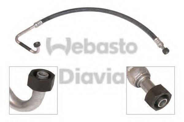 WEBASTO 82D0796045A Трубопровод высокого / низкого давления, кондиционер