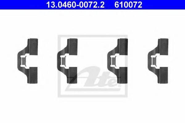 ATE 13046000722 Комплектующие, колодки дискового тормоза