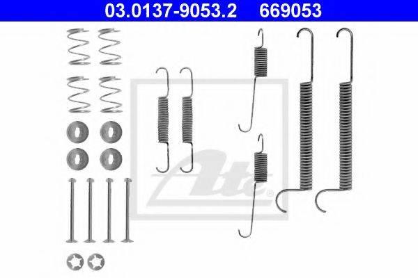ATE 03013790532 Комплектующие, тормозная колодка