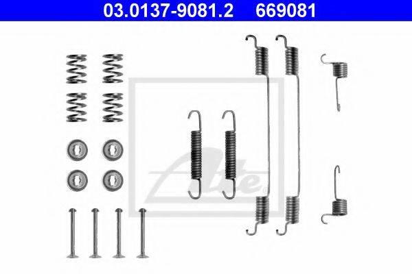 ATE 03013790812 Комплектующие, тормозная колодка