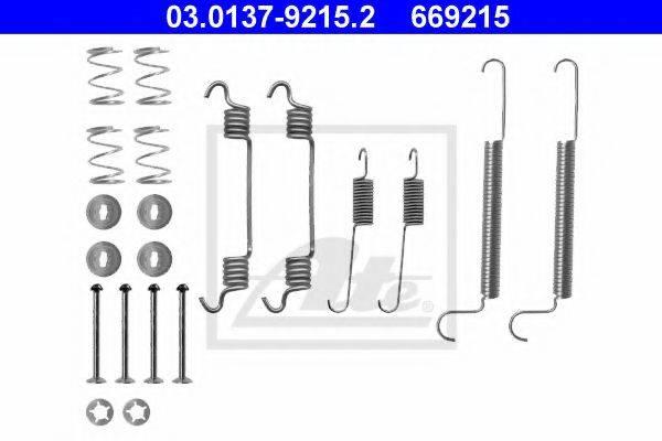ATE 03013792152 Комплектующие, тормозная колодка