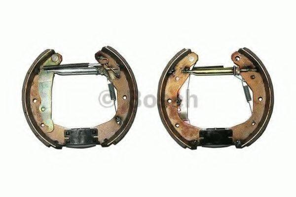 BOSCH 0204114515 Комплект тормозных колодок