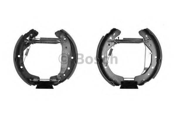 BOSCH 0204114633 Комплект тормозных колодок