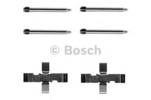 BOSCH 1987474014 Комплектующие, колодки дискового тормоза