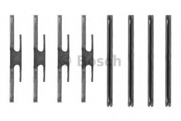 BOSCH 1987474126 Комплектующие, колодки дискового тормоза