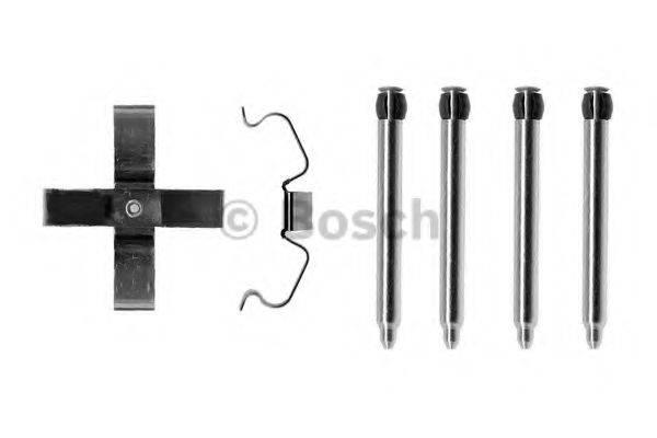 BOSCH 1987474277 Комплектующие, колодки дискового тормоза
