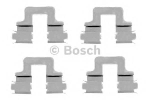 BOSCH 1987474314 Комплектующие, колодки дискового тормоза