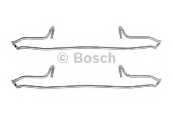 BOSCH 1987474354 Комплектующие, колодки дискового тормоза