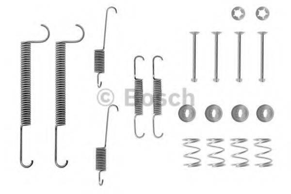 BOSCH 1987475098 Комплектующие, тормозная колодка