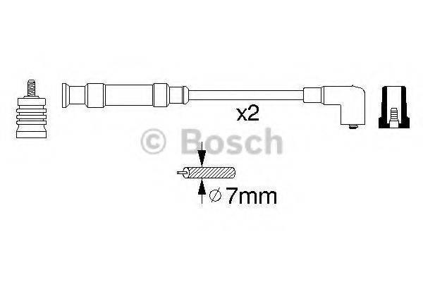 BOSCH 0356912806 Комплект проводов зажигания