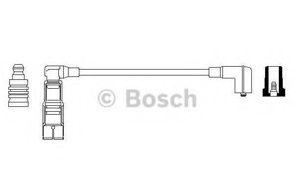 BOSCH 0356912867 Провод зажигания