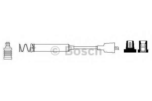 BOSCH 0986356078 Провод зажигания
