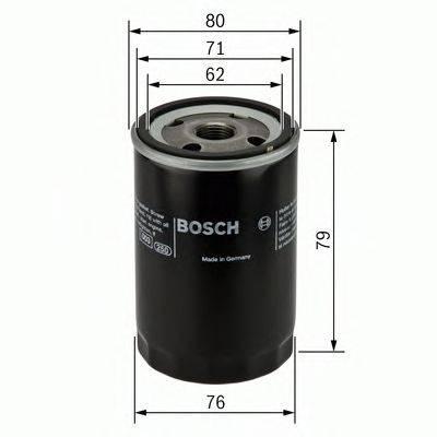 BOSCH 0451102056 Масляный фильтр