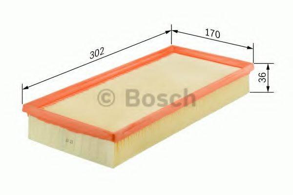 BOSCH 1457432150 Воздушный фильтр