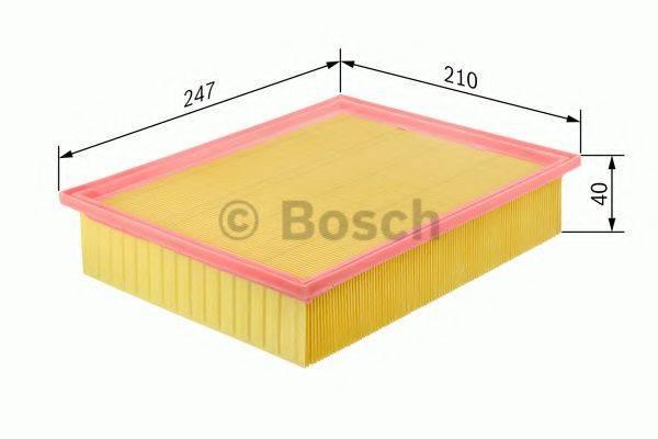 BOSCH 0986626817 Воздушный фильтр