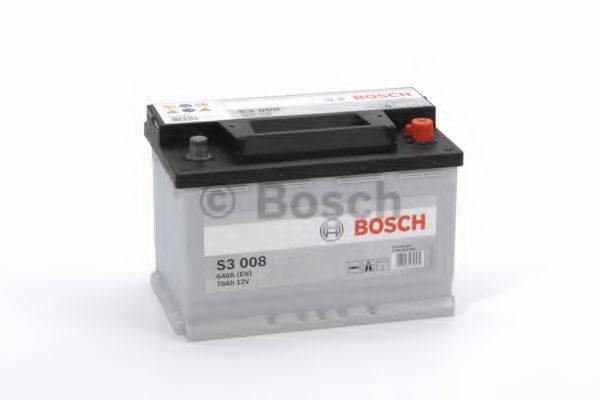 BOSCH 0092S30080 Стартерная аккумуляторная батарея; Стартерная аккумуляторная батарея