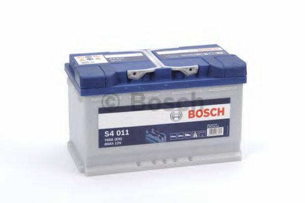 BOSCH 0092S40110 Стартерная аккумуляторная батарея; Стартерная аккумуляторная батарея