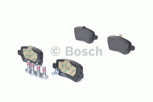 BOSCH 0986424646 Комплект тормозных колодок, дисковый тормоз